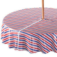 Patriotic Zippered Umbrella Tablecover