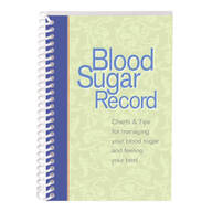 Blood Sugar Tracking Book