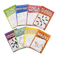 Puzzle Book Set of 8