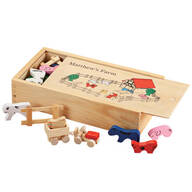 Personalized Children's Wooden Farm Set