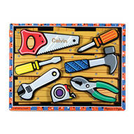 Melissa & Doug® Personalized Tools Chunky Puzzle