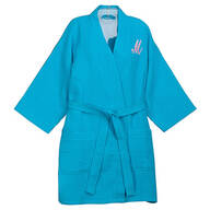 Personalized Waffle Robe - Short By Sawyer Creek Studio™