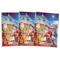 Chocolate Advent Calendar, Set of 3