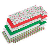 Christmas Tissue Wrap, Set of 2