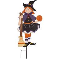 Metal Trick-or-Treat Girl by Fox River™ Creations