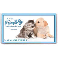 Personalized 2 Yr Planner Furry Friends