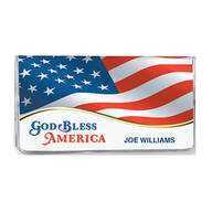 Personalized 2 Yr Planner God Bless America Flag