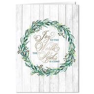 Personalized Joy to the World Christmas Card Set of 20