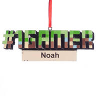 Personalized #1 Gamer Ornament