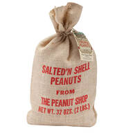 Salted'N Shell Peanuts, 32 oz.