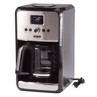 Krups® Savoy Programmable 12-Cup Stainless Steel Coffee Maker