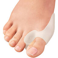 Silver Steps™ Gel Bunion Toe Spreader, 1 Pair