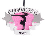 Personalized Gymnastics Ornament
