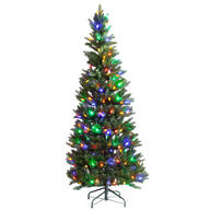 6-Foot Tree with C6 Bulbs by Holiday Peak™