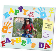 Personalized Kids Creation Fathers Day Frame