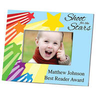 Personalized Shoot For The Stars Frame Horizontal