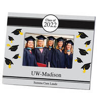 Personalized 2019 Graduation Photo Frame – Tossed Cap