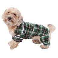 Green Plaid Dog Pajamas