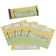 Personalized Candy Bar Wrappers Cross
