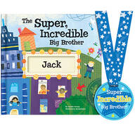 Personalized The Super Incredible Big Brother Book Storybook