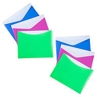 Large Poly Envelopes with Snap Closure Set of 6