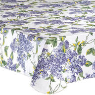 Fresh Lilac Premium Vinyl Tablecover