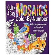 Quick and Easy Mosaics Color-By-Number Book