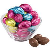 Solid Chocolate Foil Eggs, 8.5 oz.