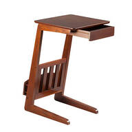 Newport Magazine Table with Drawer by OakRidge™