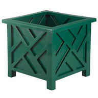 Green Chippendale Planter