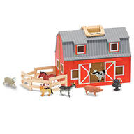 Melissa & Doug® Fold & Go Barn Set