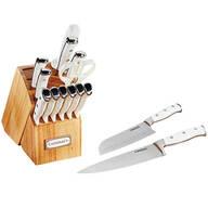 Cuisinart Triple Rivet White 15 Pc. Cutlery Set