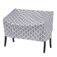 "Trellis Pattern Quilted Lounge Cover, 64""L x 33""H x 37""W"