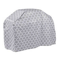 "Trellis Pattern Quilted Wagon Grill Cover, 60""L x 42""H x 22"""