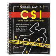 Brain Games¨ CSI Puzzle Book