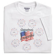 Personalized Fireworks T-Shirt