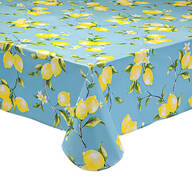 Lemon Tree Vinyl Table Cover