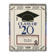 Personalized 2020 Graduation Afghan