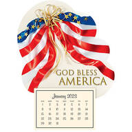 Mini Magnetic Calendar Patriotic