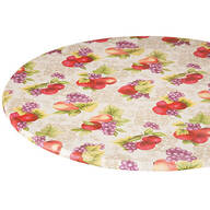Fruit Harvest Vinyl Elasticized Table Cover