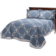 Sophie Tufted Quilt/Sham King Blue by OakRidge™