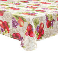 Fruit Harvest Vinyl Table Cover