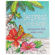 Take Time Out Color-by-Number Book