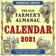 The Old Farmer's Almanac Wall Calendar