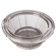 Stainless Steel Mesh Colander, Set of 3 by Home Marketplace