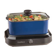West Bend® 5 Qt. Versatility Cooker™ Blue