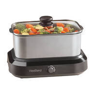 West Bend® 5-qt. Versatility Cooker - Stainless Steel