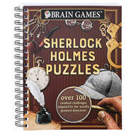 Brain Games® Sherlock Holmes Puzzles