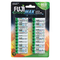 Fuji Super Alkaline AAA Batteries, 24-Pack