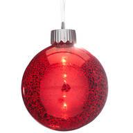 Mercury Lighted Ball Ornament